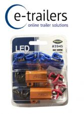 Pair of Load Resistors to stop pulsing on Trailer LED Lights 12v 25W -GWAZA 3945